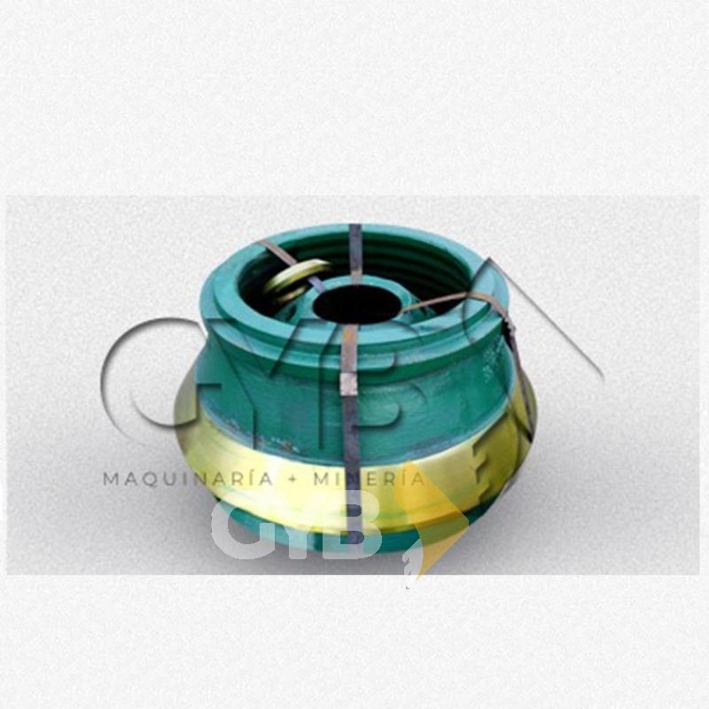 Venta de Mantle y Bowl Liner Cono HP200 para Equipo de Trituración